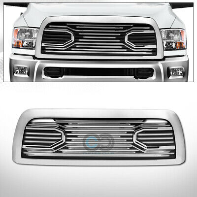 $180.95 • Buy Fit 10-18 Dodge Ram 2500/3500 Chrome Big Horn Front Bumper Grill Grille W/ Shell