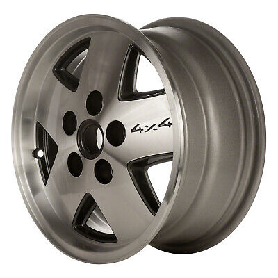 $146.72 • Buy 01320 Refinished Chevrolet S10 Truck 4x4 1983-1993 15 Inch Wheel Silver