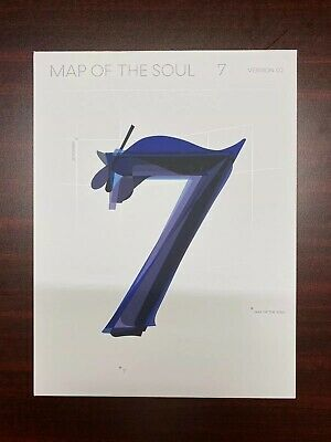 $12 • Buy BTS - MAP OF THE SOUL : 7 Album VERSION 02 (NO PHOTOCARD)