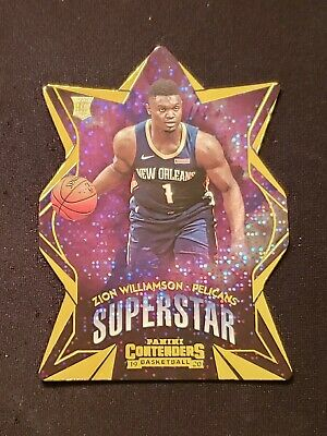 $1 • Buy 2019-20 Panini Contenders Superstar Zion Williamson RC