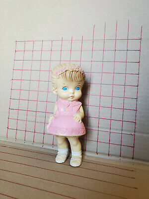 $29.98 • Buy Edward Mobley Co Squeak Toy Girl Arrow Rubber & Plastic Corp PINK 1958