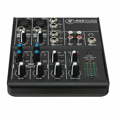 $99.99 • Buy Mackie 402VLZ4 4-channel Ultra Compact Mixer