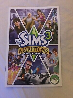 Sims 3: Ambitions Booklet (CD Key) • 2.99£