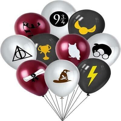 AU7.99 • Buy Harry Potter 20pcs Latex Party Decoration Premium Quality