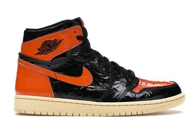 $160 • Buy Nike Air Jordan 1 Retro High OG Shattered Backboard 3.0 SBB Starfish Size 11