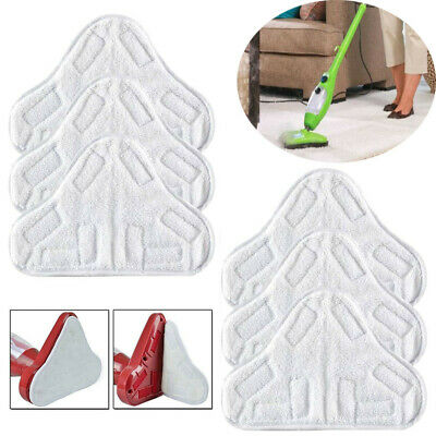 AU4.18 • Buy Washable Microfibre Floor Mop Pads Replacement For H20 X5 Steam Mop