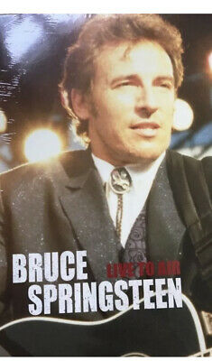Bruce Springsteen - Live To Air DVD NEW SEALED DVD • 2.99£