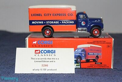 $18 • Buy Corgi Classics 52503 Mack B Series Van Lionel City Express Co. Die-Cast  MIB