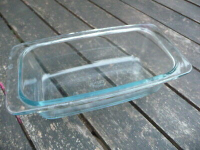 1x Glass Pyrex Dish For The EKCO Hostess Trolley - Original Serving Dishes • 17.99£