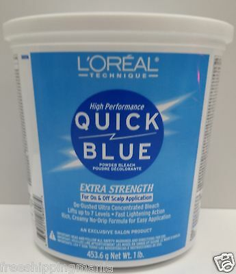 $24.99 • Buy LOREAL QUICK BLUE EXTRA STRENGTH POWDER ON&OFF SCALP APPLICATION 16oz