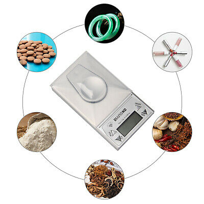 Professional 0.001-20g Digital Milligram Weighing Scale Gold Jewellery Lab Scale • 11.59£