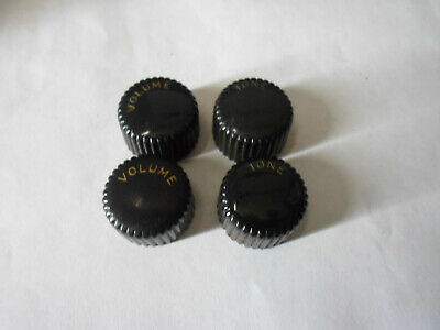 $ CDN108.95 • Buy Vintage Silvertone Harmony Guitar Knobs Original Cupcake 60's Black Or Brown