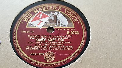 Scottish Country Dance Players Ladies Fancy & She's Ower Young To Hmv B9734 • 2.99£