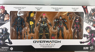 AU150 • Buy Overwatch *ultimates Carbon Series *4 Pack Action Figures. Loot. 2019. New.