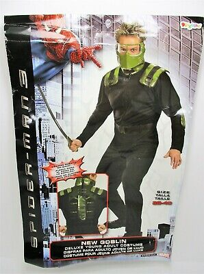 £21.78 • Buy Spider-Man 3 New Goblin Jumpsuit ONLY (no Mask) 38-40 Spiderman Costume