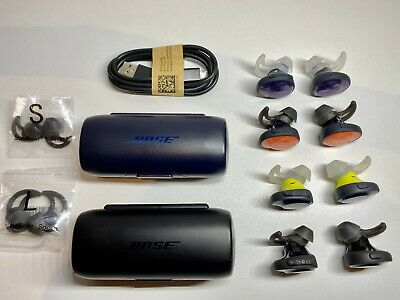 $ CDN81.12 • Buy Bose Soundsport Free Wireless Headphones Replacement Earbuds/Charging Case Color