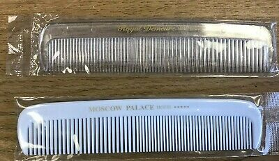 £1.55 • Buy Comb Hair Professional Home Barber Free P & P Men Women Plastic White Clear