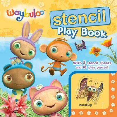 Waybuloo Stencil Play Book (Stencil Play Books) By , Acceptable Used Book (Board • 10.90£