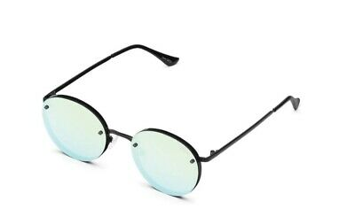 AU56 • Buy Quay Farrah Sunglasses In Black Mint Mirror