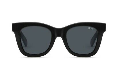 AU75 • Buy Quay After Hours Sunglasses In Shiny Black Smoke