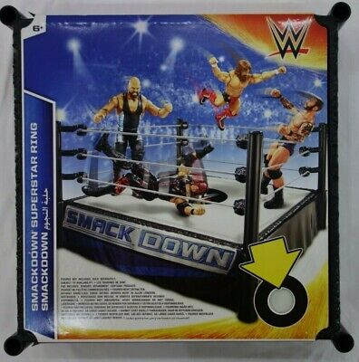 WWE Smackdown Superstar Ring Age 6+ NEW • 44.99£