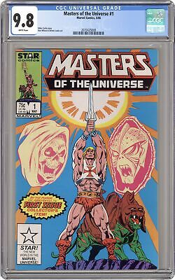 $340 • Buy Masters Of The Universe #1 CGC 9.8 1986 2070425008