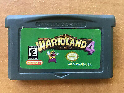 AU39.95 • Buy Wario Land 4 - Nintendo Game Boy Advance GBA Game- Cartridge Only - Free Postage