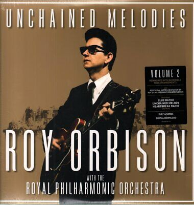 $22.78 • Buy ROY ORBISON WITH THE ROYAL PHILHARMONIC ORCHESTRA Unchained Melodies DOUBLE LP
