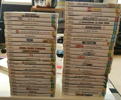 AU15.88 • Buy Nintendo Wii & Wii U Games *Free Postage* Select From Drop Down Box