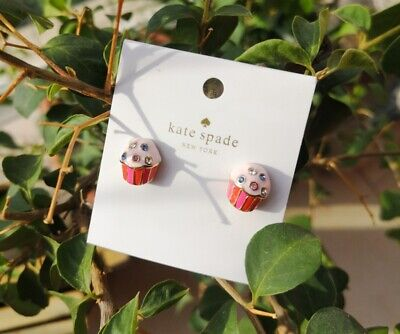 $ CDN26.65 • Buy KATE SPADE Take The Cake Cupcake Stud Earrings