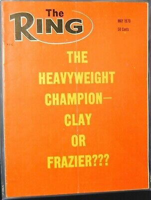 $2.99 • Buy 1970 The Ring Magazine-Muhammad Ali Cassius Clay Joe Frazier #