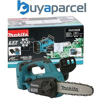 View Details Makita DUC302Z Twin 18v / 36v LXT Cordless Lithium Ion Chainsaw 300mm Bare Unit • 199.99£