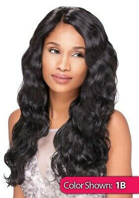 £33.99 • Buy Sensationnel Synthetic Lace Front Wig Wavy Empress Edge Custom Lace Body Wave