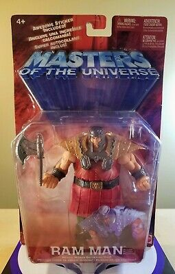 $29.99 • Buy Masters Of The Universe Ram Man Action Figure 2002 Mattel New Sealed