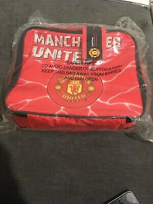 Manchester United- School Bag: For Ages 4 + Lunch & School • 9.49£
