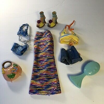 $14 • Buy My Scene Barbie Doll Clothes Shoes & Accessories Lot