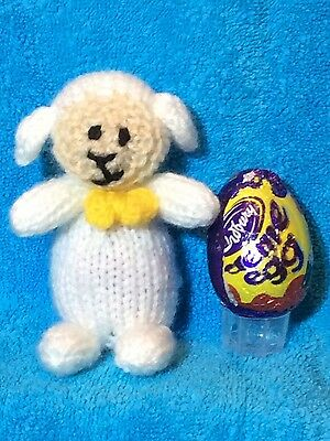 £2.99 • Buy KNITTING PATTERN  - Easter Lamb Chocolate Cover Fits Creme Egg