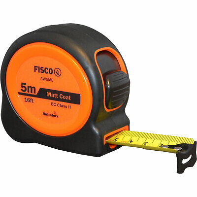 Fisco A1 Plus Tape Measure Imperial & Metric 16ft / 5m 25mm • 12.95£