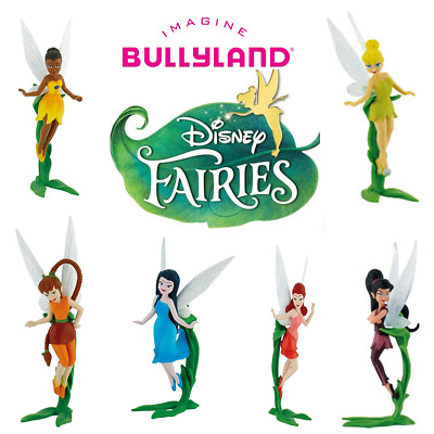 Bullyland Disney Fairies Figures Figurines Toys Cake Topper- STOCKING FILER • 5.99£