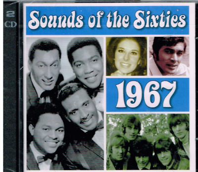 (cd1) Time Life - Sounds Of The Sixties - 1967 - NEW & SEALED - 36 Hits - 2CDs   • 12.99£
