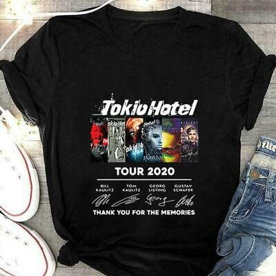 $14.99 • Buy Tokio Hotel 19th Anniversary 2001 2020 Thank You For The Memories T Shirt
