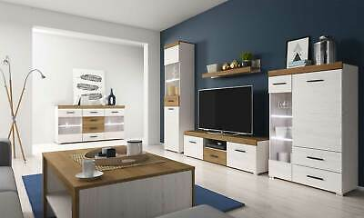 Living Room Furniture Set Tv Unit Display Stand Wall Mounted Cupboard Cabinet • 111£