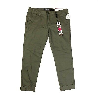 $17.60 • Buy Freestyle Revolution Olive Green Skinny Stretch Trouser Pants NWT Size 5