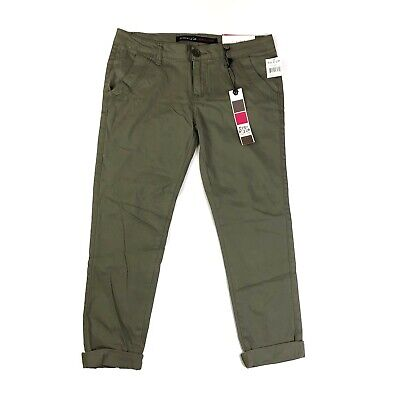 $16.50 • Buy Freestyle Revolution Olive Green Skinny Stretch Trouser Pants NWT Size 5