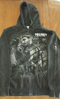 £53.12 • Buy Call Of Duty Black Ops Hoodie Dark Gray XXL 2XL ZOMBIES RARE HTF