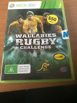 AU25 • Buy Brand New-Wallabies Rugby Challenge Xbox 360 Game