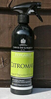 Carr & Day & Martin Citromax Midge Fly Repellent Horse Equine Fly Spray 500ml • 12.90£