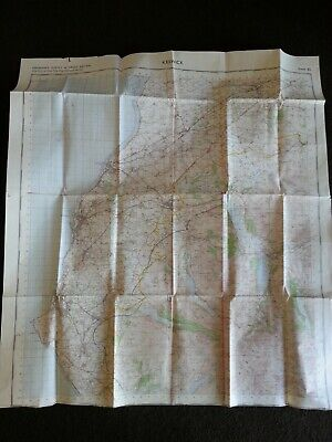 Vintage Map Keswick Lake District C1960's Large Map Ordnance Survey 82 England • 6.99£
