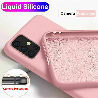 $ CDN3.63 • Buy Liquid Silicone Soft Case Cover For Samsung Galaxy S20 Ultra Note 10 Plus S10 S9