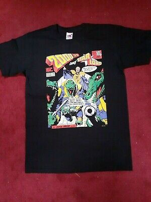 Judge Dredd Klegg Official Merch SMALL T-shirt  1970s Vintage Style FREE POSTAGE • 9.99£